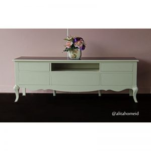 meja tv shabby chic